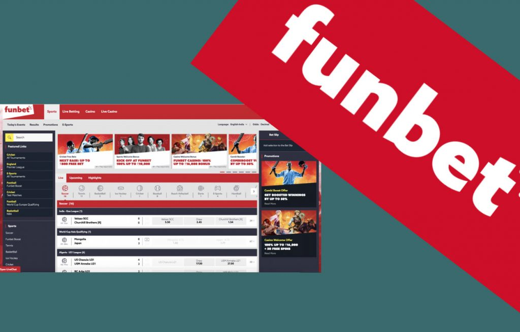 FunBet offers a unique sports betting experience
