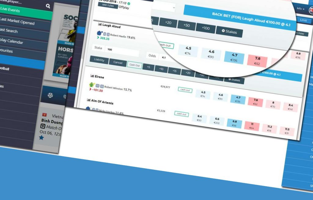Betting exchange governs in a completely different way
